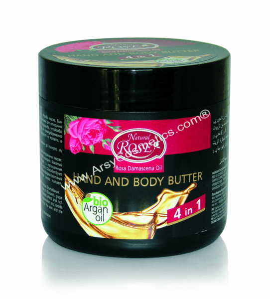 Hand And Body Butter 6 oils of life